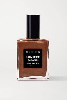French Girl Lumiere Caramel Shimmer Oil, 60ml