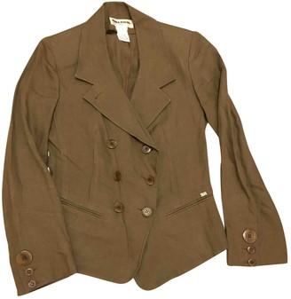 Sonia Rykiel Khaki Linen Jacket for Women Vintage