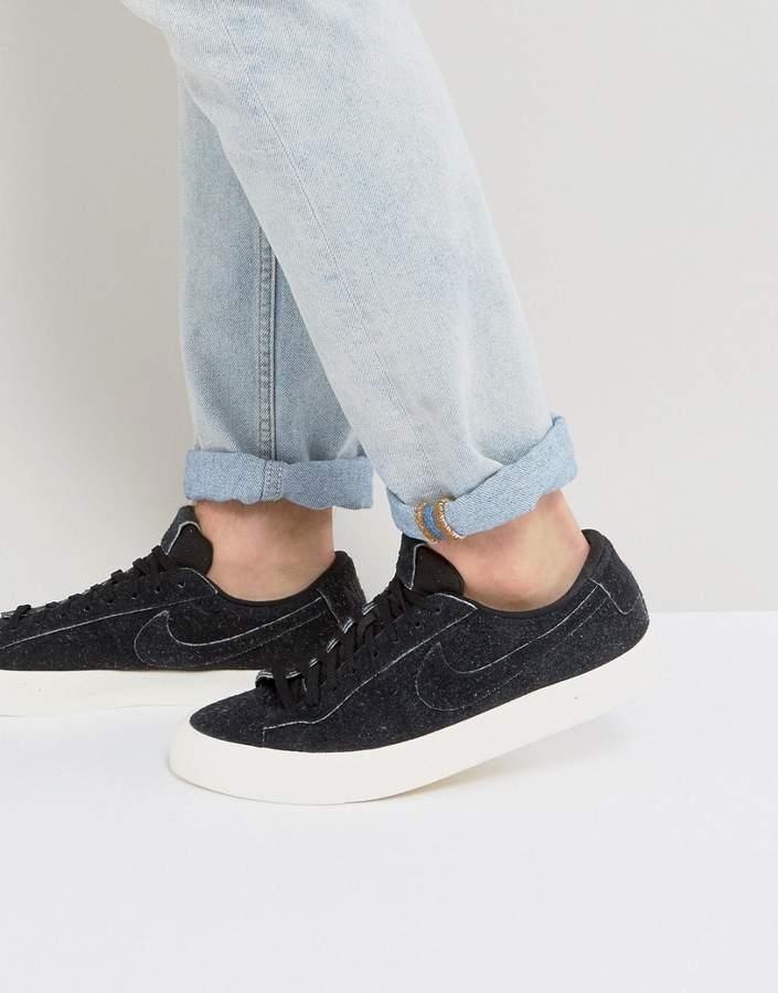 Nike Blazer Studio Low Sneakers In Black 880872-002