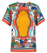 Emilio Pucci Leaf Printed T-Shirt