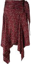 Isabel Marant 'Treva' wrap skirt - women - Silk - 40