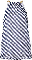 MICHAEL Michael Kors chain-embellished striped top
