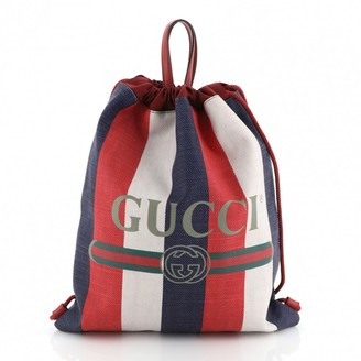 Gucci Multicolour Cloth Backpacks