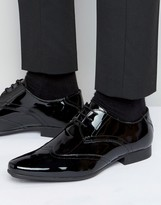 Frank Wright Oxford Shoes In Patent Leather