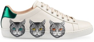 Gucci Ace cat sneakers