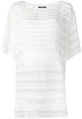 Faith Connexion X NVDS lace T-shirt dress