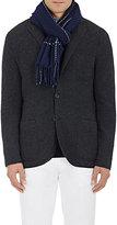 Ermenegildo Zegna Men's Cashmere-Wool Scarf-NAVY
