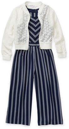 Knitworks Knit Works 2-pc. Girls Jumpsuit Preschool / Big Kid