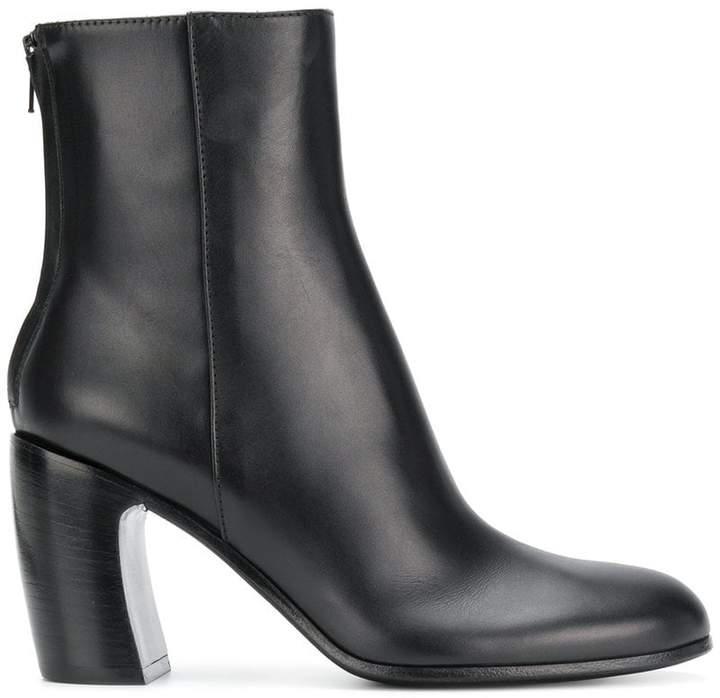 Ann Demeulemeester back zip ankle boot