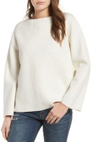 Madewell Women's Laced Back Pullover Sweater