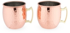 True Hamme Moscow Mule Mugs, 2 Pack