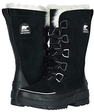 Sorel Tivolitm IV Tall (Black) Women's Cold Weather Boots