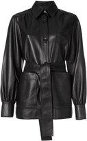 Joseph collared leather jacket - women - Lamb Skin - 38