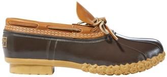 L.L. Bean Men's Bean Boots, Rubber Moc