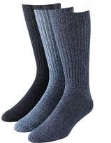Calvin Klein Mens Three-Pack Ribbed Socks