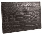 Trafalgar Genuine Alligator Leather Card Case