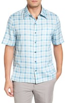 Nat Nast Men's Sea Breeze Silk Blend Camp Shirt