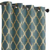 "Pier 1 Imports Moorish Tile Teal 108"" Curtain"