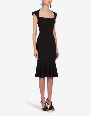 Dolce & Gabbana Cady Fabric Mini Dress