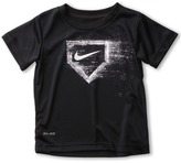 Nike Legend GFX S/S Top (Toddler) (Black) - Apparel