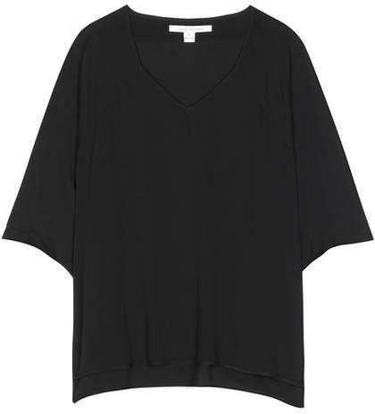 Diane von Furstenberg Elsi silk blouse
