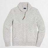 J.Crew Factory Donegal full-zip cardigan sweater
