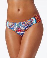 LaBlanca La Blanca All in the Mix Printed Side-Tab Hipster Bikini Bottoms