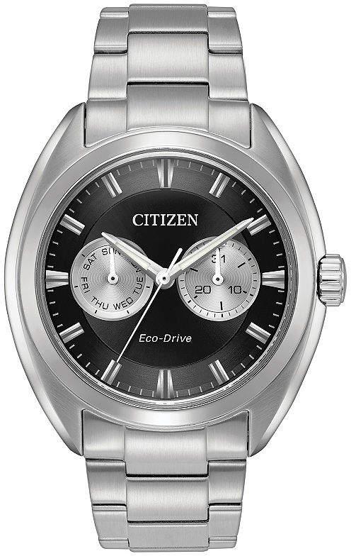 Citizen Mens Silver Tone Bracelet Watch-Bu4010-56e