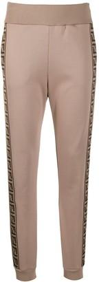 Fendi FF side stripe track pants