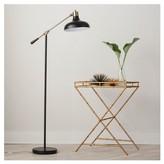 Threshold Crosby Schoolhouse Floor Lamp - Black (Includes CFL Bulb