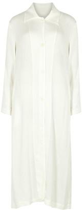 Raquel Allegra White Shirt Dress
