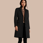 Burberry Tailored Wool Cashmere Coat