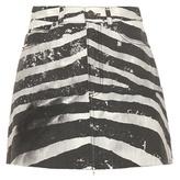Marc Jacobs Mini-jupe à Imprimé Zébré