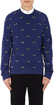 Kenzo Men's Eye-Pattern Sweatshirt-NAVY