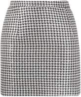 Alessandra Rich houndstooth print skirt