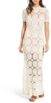 Majorelle Women's Therese Crochet Maxi Dress