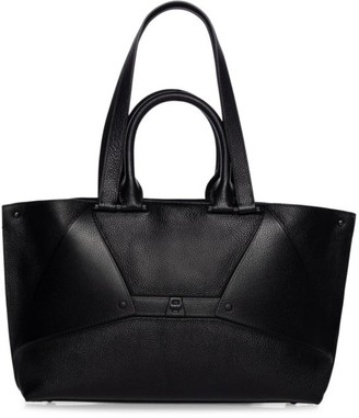 Akris Small Aicon Leather Tote