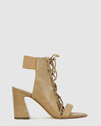 Kennedy - Women's Brown Strappy sandals - Abort - Size One Size, 37 at The Iconic
