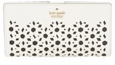 Kate Spade Women's Cameron Street - Stacy Perforated Leather Wallet - White