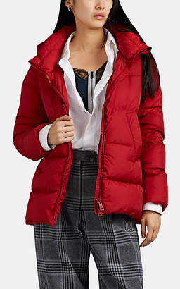 Herno Women's Down-Quilted Hooded Puffer Jacket - Red