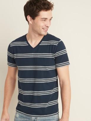 Old Navy Soft-Washed Striped V-Neck Tee for Men
