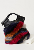 Foley + Corinna Womens PHOEBE FAUX FUR TOTE