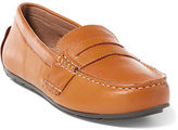 Ralph Lauren Big Kid Telly Leather Penny Loafer