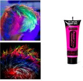 Paint Glow Neon Blue UV Hair Gel 10ml by Paint Glow Creations