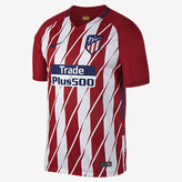 Nike 2017/18 Atletico de Madrid Stadium Home Men's Soccer Jersey