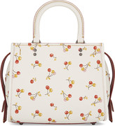 Coach Rogue 25 cherry print shoulder bag