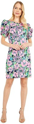 Lilly Pulitzer Anabella Dress (High Tide Navy Tall Order) Women's Dress