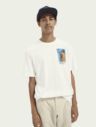 Scotch & Soda Cotton photo-print short sleeve t-shirt | Men