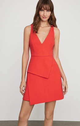 BCBGMAXAZRIA Sleeveless Asymmetric Panel Dress