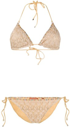 Missoni Side Tied Bikini Set